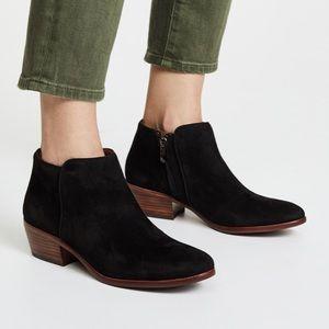Sam Edelman Petty black suede Chelsea boots 7